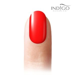 Neon Red Gel Polish 5ml