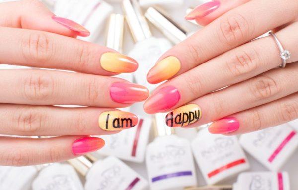Neon Pink Gel Polish 5ml