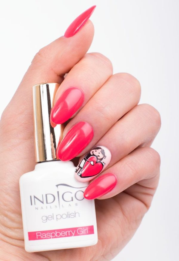 Raspberry Girl Gel Polish 5ml
