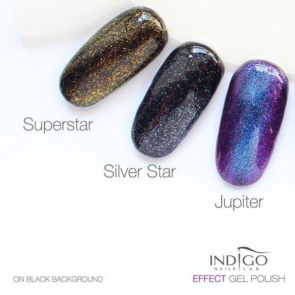 Silver Star Effect Gel Polish 5ml