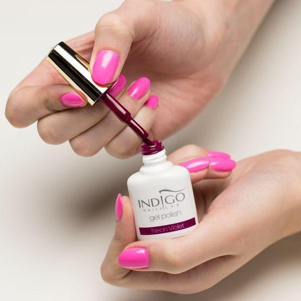 Neon Violet Gel Polish