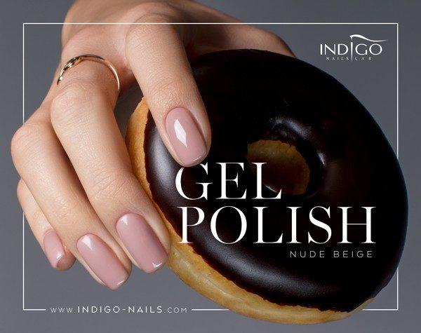 Nude Beige Gel Polish 5ml