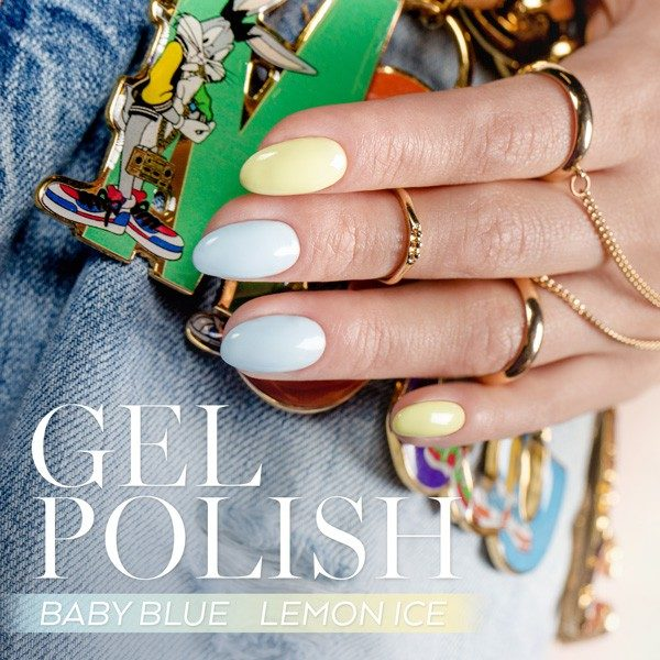 Baby Blue Gel Polish 10ml