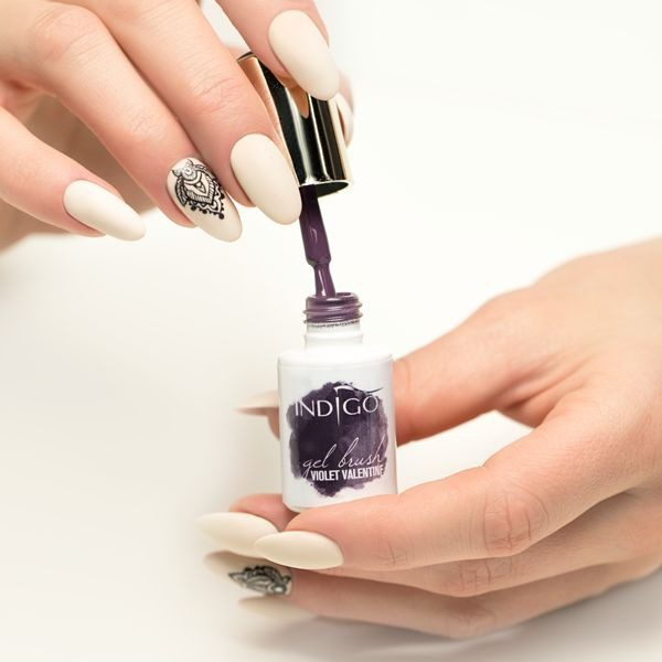 Violet Valentine Gel Brush