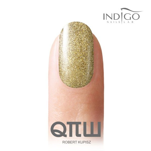 Light Gold Glitter Gel Polish 5ml