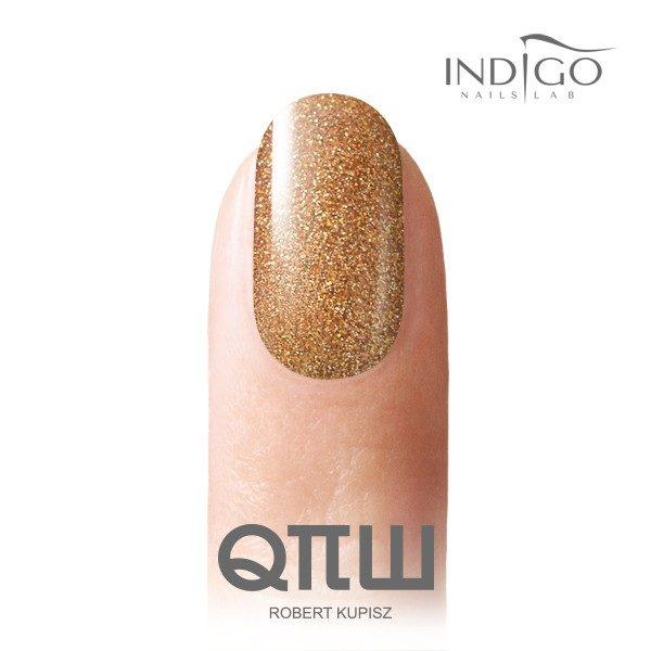 Rich Gold Glitter Gel Polish 10ml
