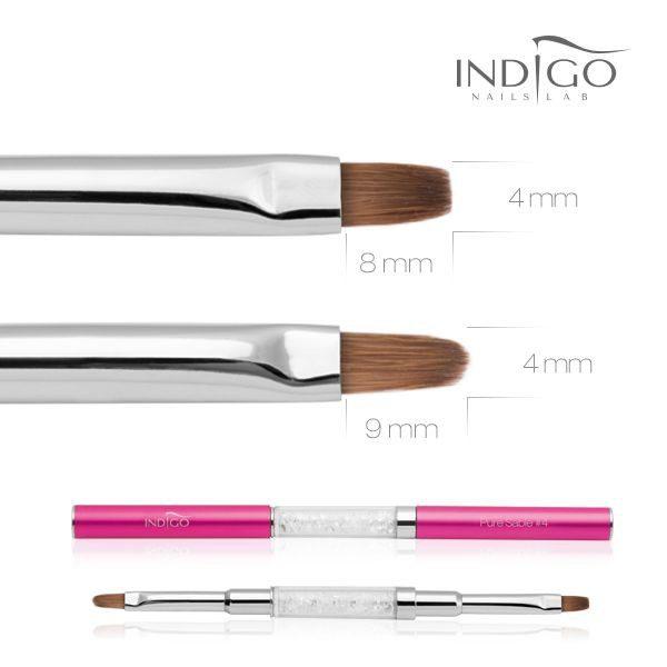 Indigo Diamond Brush No 4