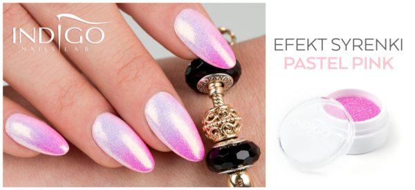 Mermaid Effect Pastel Pink