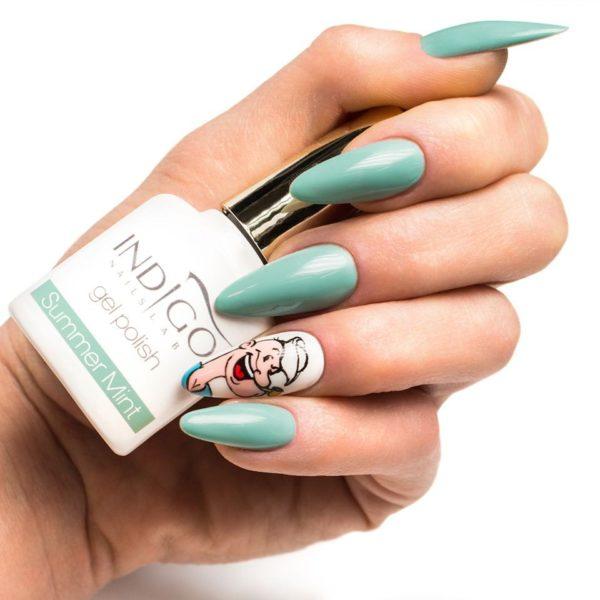 Summer Mint Gel Polish